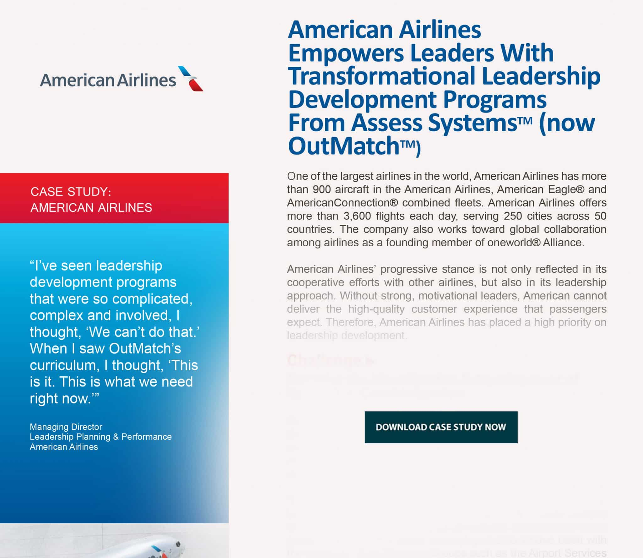 case study american airlines development fade button