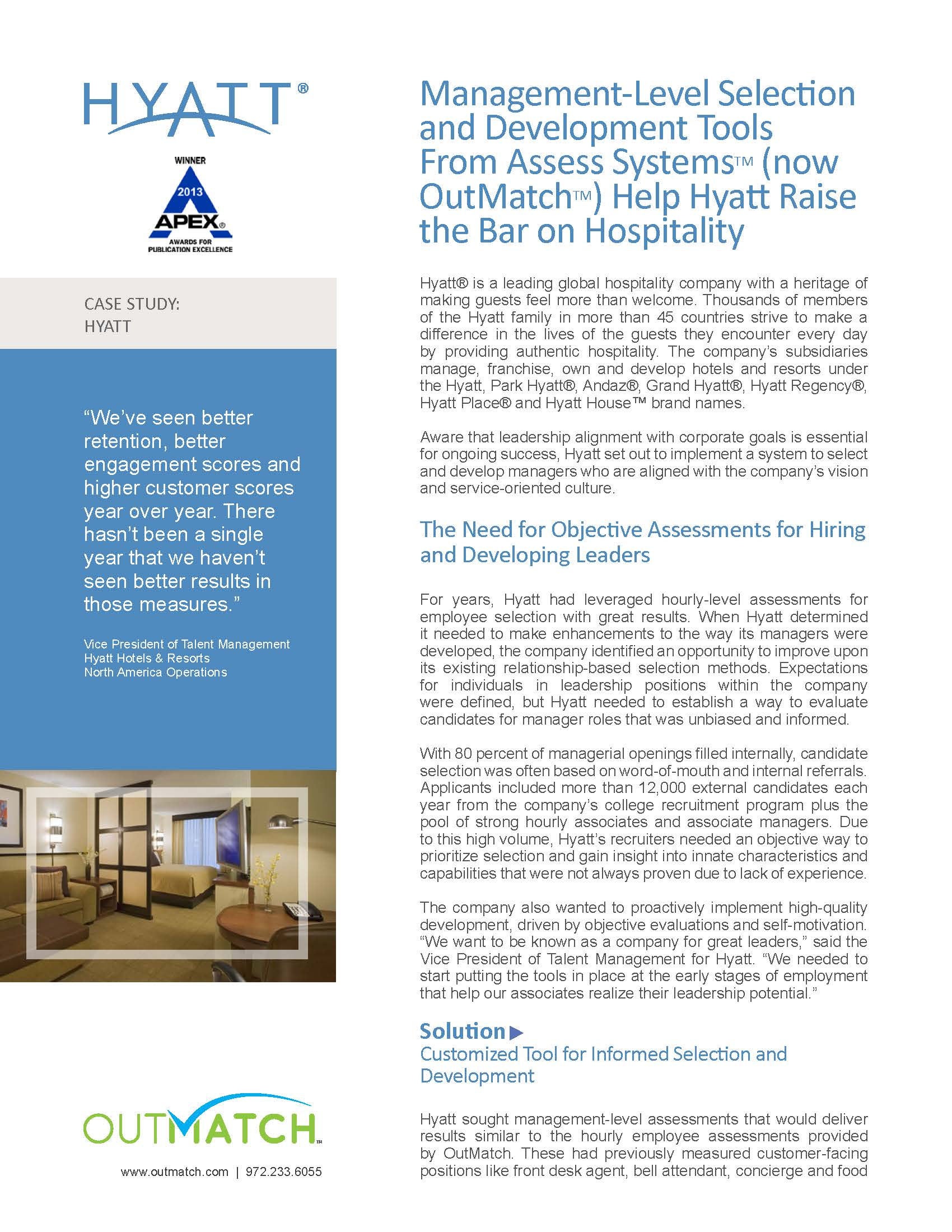 the hyatt curacao operational and development strategies essay
