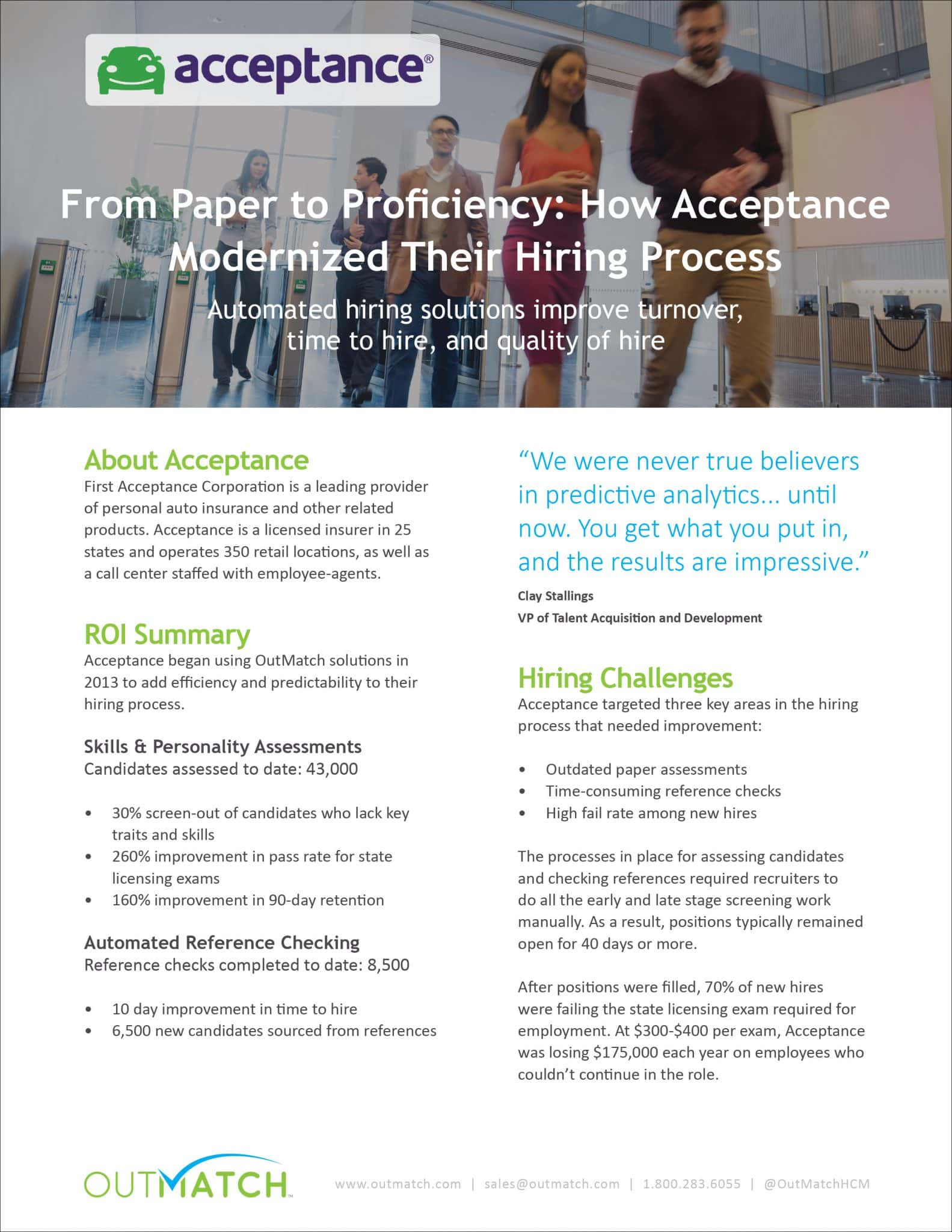 from paper to proficiency how acceptance modernized their hiring the case study pdf
