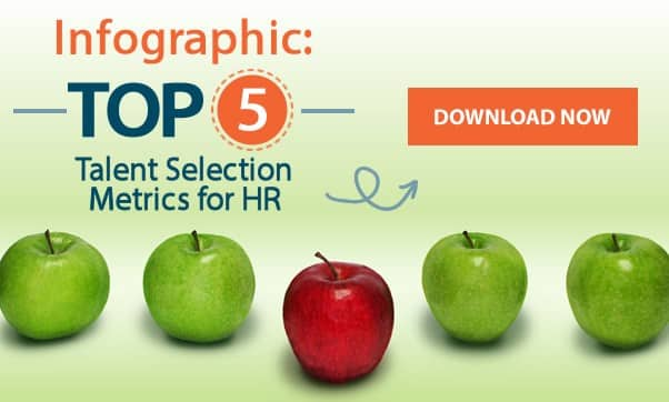 Infographic: Top 5 Talent Selection Metrics For HR