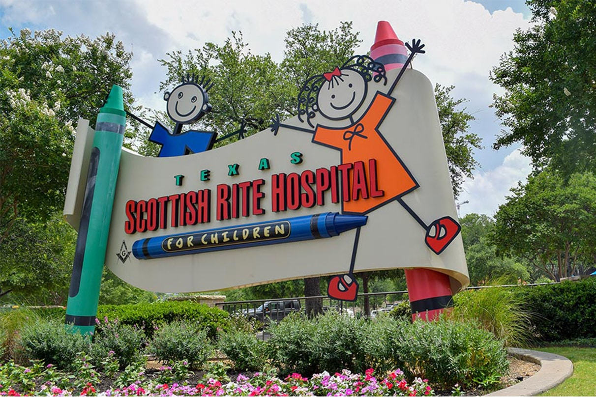 #OutMatchGives With Texas Scottish Rite Hospital For Children